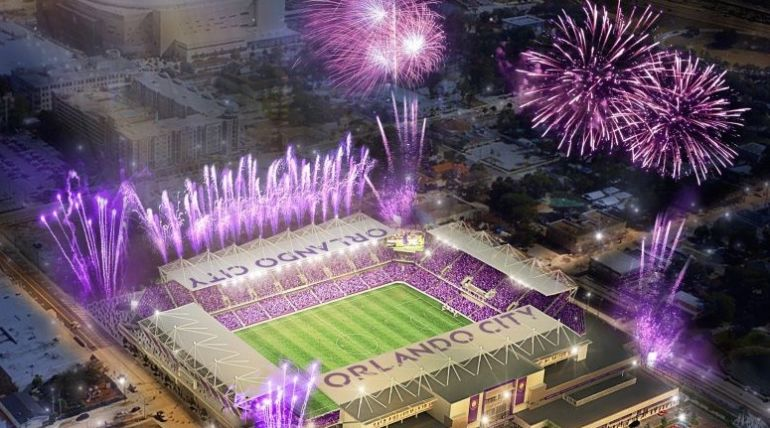 Orlando City Soccer Stadium, Florida