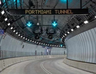 PortMiami Tunnel, Florida